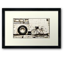 Wrong Size Framed Print