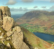 The High Stile Walk....Buttermere Below by Jamie  Green