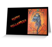"Gamaun ""Happy Halloween"" - Greeting Card Greeting Card"