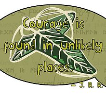 Courage from Tolkien by McShortRound