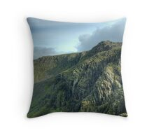 The High Stile Walk....The Crags of High Stile Throw Pillow