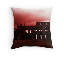 Whitby Abbey 2 Throw Pillow