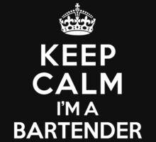 Keep Calm I'm a Bartender Kids Clothes
