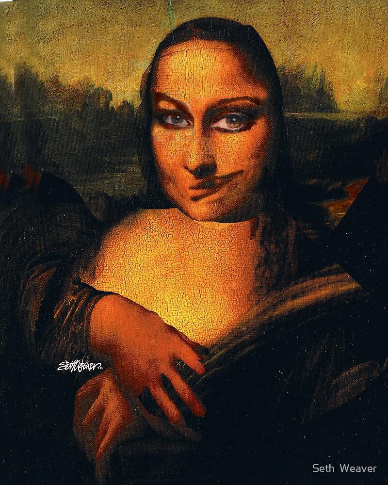 Smirking Mona by Seth  Weaver