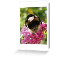 BumbleBum Greeting Card