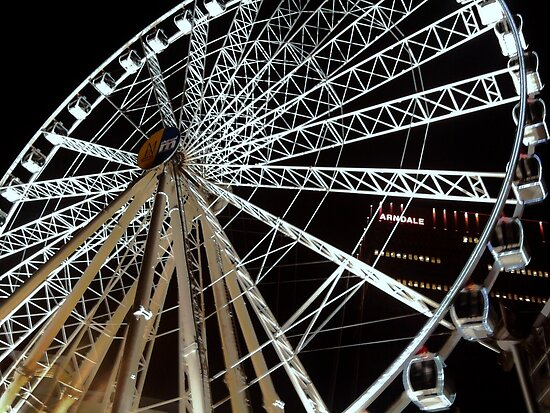 Big Wheel - Manchester (Colour) by alicesagar17