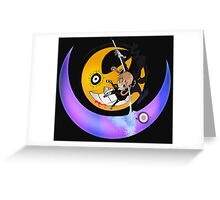 soul eater maka albarn kishin hunter anime manga shirt Greeting Card