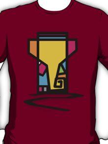 Abstract Art Of Lord Ganesha Design T-Shirt