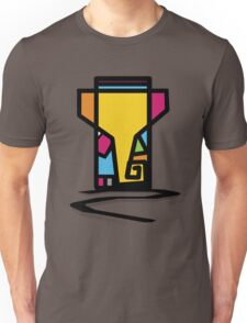 Abstract Art Of Lord Ganesha Design Unisex T-Shirt