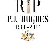 Phillip J Hughes RIP by Cotza