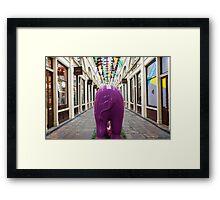 London elephant, Covent Garden Framed Print