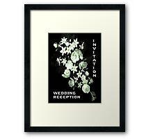 Flowers for a Bride Framed Print