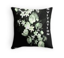 Flowers for a Bride Throw Pillow