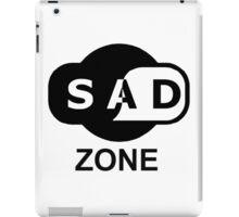 sad zone iPad Case/Skin