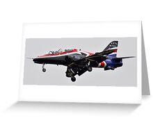 RAF Hawk Greeting Card