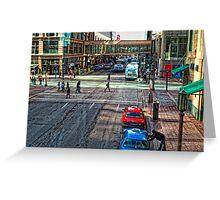 Downtown Minneapolis  Greeting Card