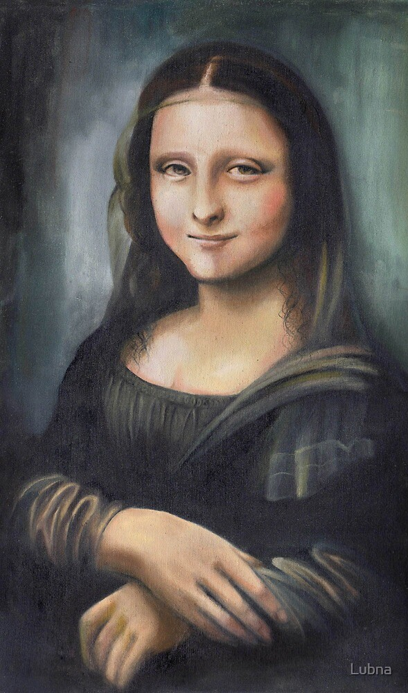 Monalisa: ten years younger :)) by Lubna