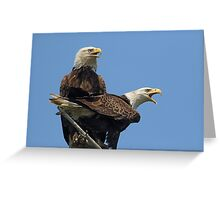 Eagle Parents Greeting Card