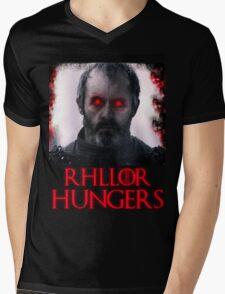 Rhllor Hungers Mens V-Neck T-Shirt