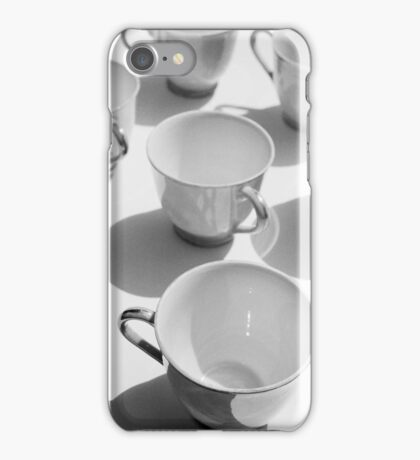 tea cups 1 iPhone Case/Skin