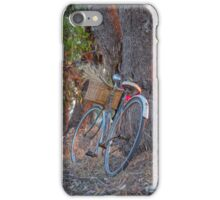 Gathering bunches of wheat. iPhone Case/Skin