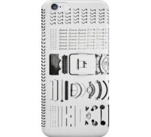 Disassembly Type Machine iPhone Case/Skin