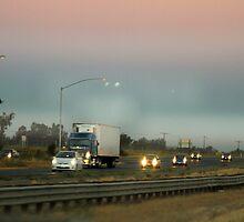 Smog at sunset by MarthaBurns