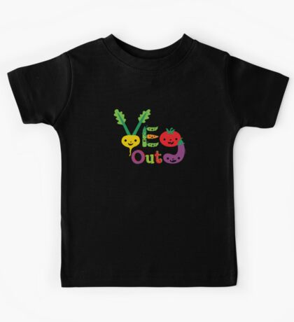 Veg Out Deux - on darks Kids Clothes