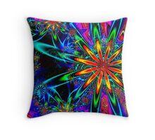 UF Julia Flower Cross on Apo Throw Pillow