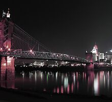 Roebling Bridge - Cincinnati, Ohio by ashley-dawn