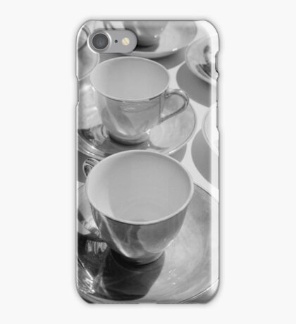 tea cups 2 iPhone Case/Skin