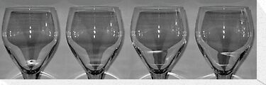 Four Wine Glasses by Michael Rubin