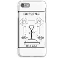 Art De Echo - Happy New Year iPhone Case/Skin