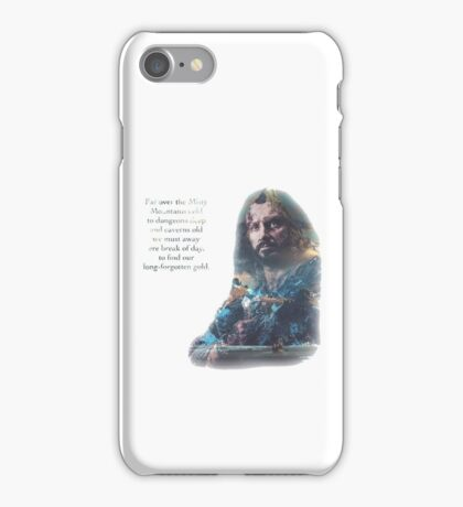 The Misty Mountains iPhone Case/Skin