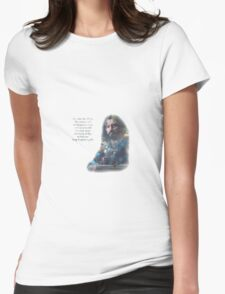 The Misty Mountains Womens Fitted T-Shirt