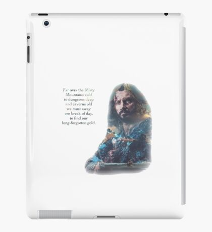 The Misty Mountains iPad Case/Skin