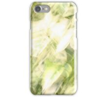 summer leaves iPhone Case/Skin