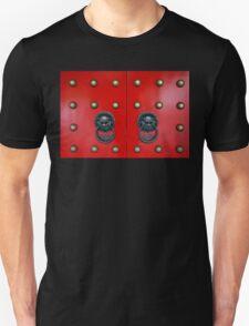 Chinese Door Knockers Unisex T-Shirt