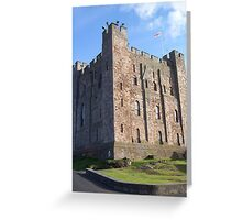 Magnificent Bamburgh Castle, Northumberland Greeting Card
