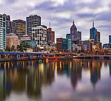 Melbourne Reflections by Lauren Huston