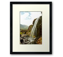 Waterfall at the Conor Pass Framed Print