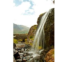 Waterfall at the Conor Pass Photographic Print