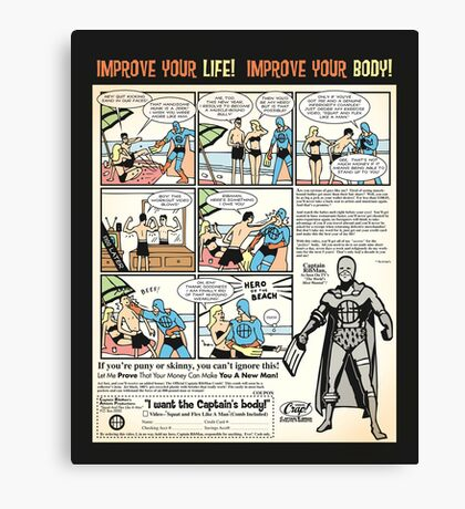 Squat & Flex Like a Man - Workout Video Canvas Print