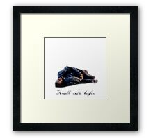 Thorin's Last Goodbye Framed Print