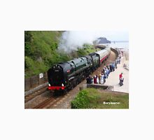 British Railways 70000 'Britannia' at Teignmouth Unisex T-Shirt