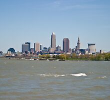 Cleveland, Ohio in the spring by Henry Plumley