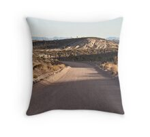 Groom Lake Road, Area 51, Rachel, Nevada Throw Pillow