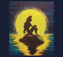 Disney Little Mermaid - Ariel by Night  T-Shirt