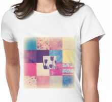 Paper Quilt 2.0 Womens Fitted T-Shirt