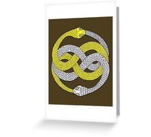The Neverending Story - Auryn Symbol Greeting Card